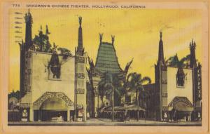 Hollywood, Calif., Grauman's Chinese Theater - 1948