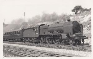 45504 Train At Swindon Station in 1959 Vintage Railway Photo