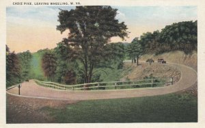 Cadiz Pike, Leaving WHEELING , West Virginia, 1910s