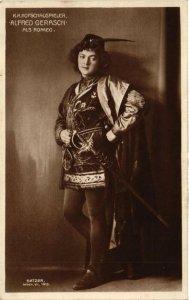 CPA Alfred Gerash. Als Romeo. THEATER STAR (627902)