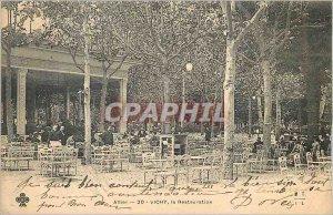 Postcard Old Vichy Restoration