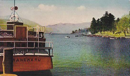 Boats, Fine Views Of Lake Chuzenji, Nikko, Japan, 1900-1910s
