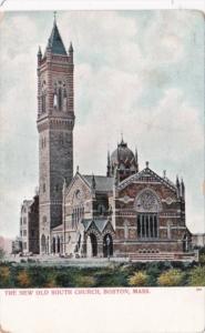 Massachusetts Boston The New Old South Church