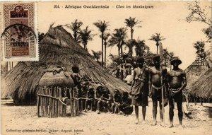 PC CPA ETHNIC NUDE FEMALE TYPES SUDAN AFRICA Vintage Postcard (b670)