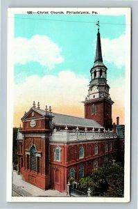 Philadelphia PA-Pennsylvania Christ Church Vintage Postcard