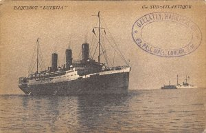 Lutetia Compagmie De Navigation Sud Atlantique Ship Unused