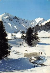 France Hiver Auvergne champs de neige Sancy, winter