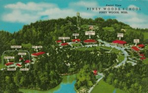PINEY WOODS, Mississippi , 30-40s; Aerial View, Piney Woods School