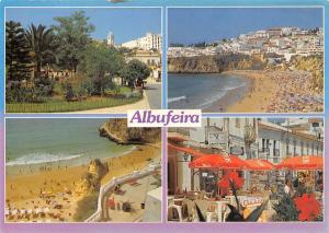 Portugal Albufeira Algarve Playa Beach Terrace Promenade