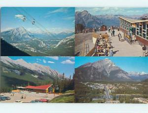 Unused Pre-1980 TOWN VIEW SCENE Banff Alberta AB p8214