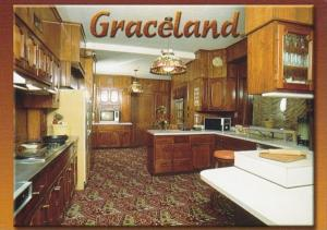 Elvis Presley Graceland Mansion Kitchen Memphis Tennessee
