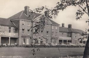 Wayland Hospital Attleborough Norfolk Old RPC Postcard