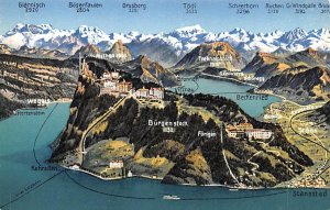 Glarnisch Bergenstock Switzerland Unused