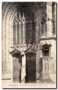 Guerande Old Postcard Chair of St Aubin