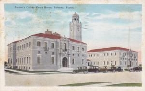 Sarasota County Court House, Sarasota, Florida, PU-1935