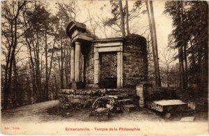 CPA Ermenonville- Temple de la Philosophie FRANCE (1020469)