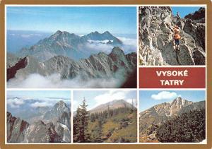 Slovakia Vysoke Tatry The High Tatras Bradavica Batizovsky stit Mountains