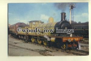 ry1027 - Highland Railway Engine no 103 - postcard