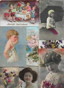 Mixed Theme Vintage Kids Postcard Lot of 20 01.16