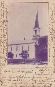 BEAVERTOWN , Pennsylvania, PU-1907; Evangelical Lutheran Church