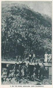 Onthe road , HOUAILOU , New Caledonia , 20-40s