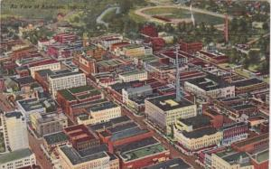 Indiana Anderson Aerial View 1953 Curteich