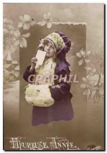 Old Postcard Fun Children Fur