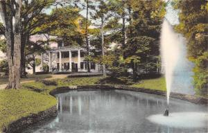 Castile New York~Letchworth Park~Glen Iris Inn & Fountain~1920s Handcolored PC