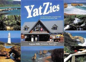 Australia Victoria Lavers Hill, YatZies Lighthouse Harbour Boats Port Creek