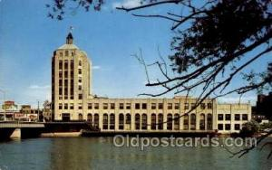 News Tower, Rockford, Illinois USA, Radio Station WROK Tower, Towers, Postcar...