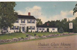 Massachusetts Woburn Shaker Glen House 1943