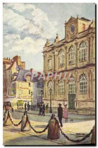 Old Postcard The Havre Museum Fred Money