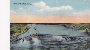 Dam At Keokuk, Iowa, 1900-1910s