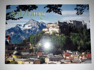 Salzburg, Austria, View to the Old - Town from Kapuzinerberg