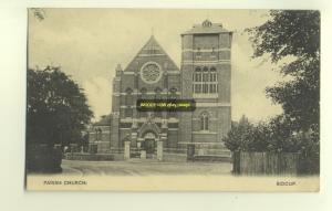cu0932 - Parish Church , Sidcup , Kent - postcard