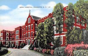 Mercy Hospital, Charlotte, NC, USA Mercy  Charlotte, NC, USA Unused