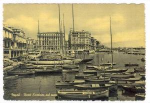 Napoli, Italy, 30-40s, Hotel Excelsior dal mare