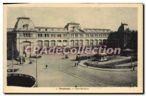 Postcard Old Toulouse Gare Matabiau