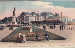 The Casino And The Terrace, Boulogne Sur Mer (Pas De Calais), France, PU-1923