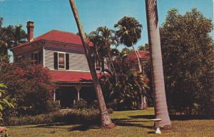 The Thomas A. Edison Home, Palm Trees, Fort Meyers, Florida, United States, 4...