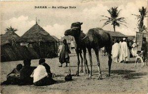 CPA AK SÉNÉGAL-Dakar-Au village Noir (331186)