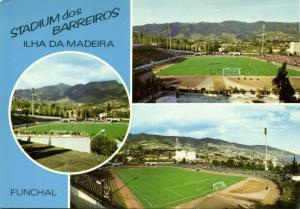 portugal, MADEIRA, Funchal, Estádio dos Barreiros (1970s) Stadium Postcard