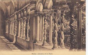 Italy Roma Rome Chiostro di San Paolo
