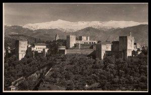 Vista General de la Alhambra y Sierra Nevada,Granada,Spain BIN