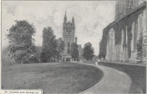 BELLEVILE , Ontario , 1900-10s ; St Thomas & Bridge Street Church