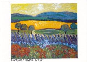 Countryside In Provence Lauren Schnarr Omega Custom Framing and Gallery Vanco...