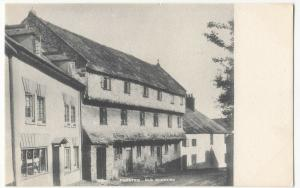 Somerset; Dunster, Old Nunnery PPC, Unposted, c 1905 - 1910
