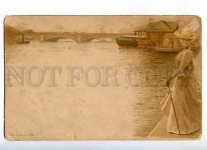 183548 RUSSIA Wiesel Marina Vintage St.Eugenie Red Cross