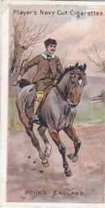 Player Vintage Cigarette Card Riders Of The World 1905 No 30 Young England