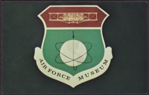 Air Force Museum Crest Postcard